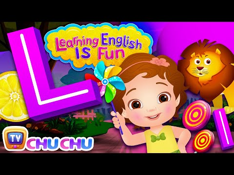 Alphabet L Song | Learning English Is Fun™ | ChuChu TV Phonics & Words For Preschool Children