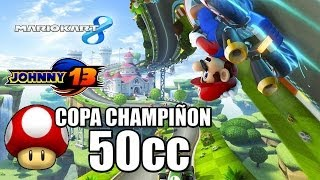 Mario Kart 8 GAMEPLAY con Johnny13 - Copa Champiñon - 50cc