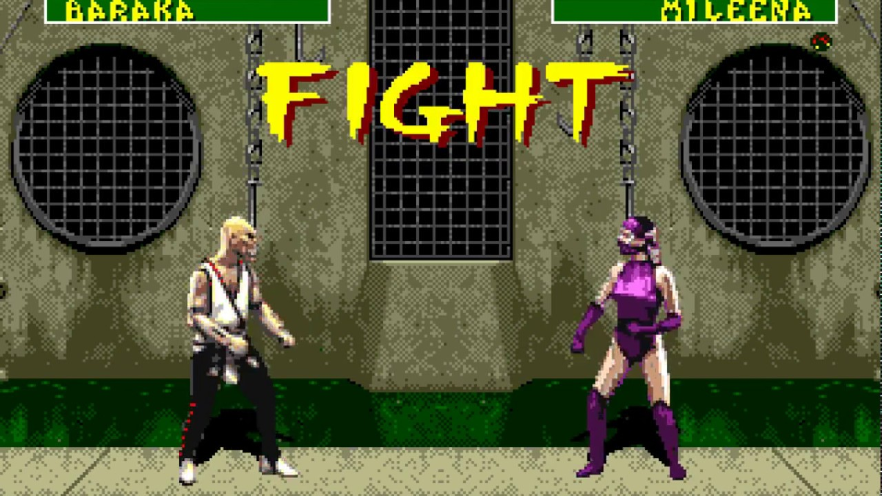 Download Amiga 500 Longplay [132] Mortal Kombat 2