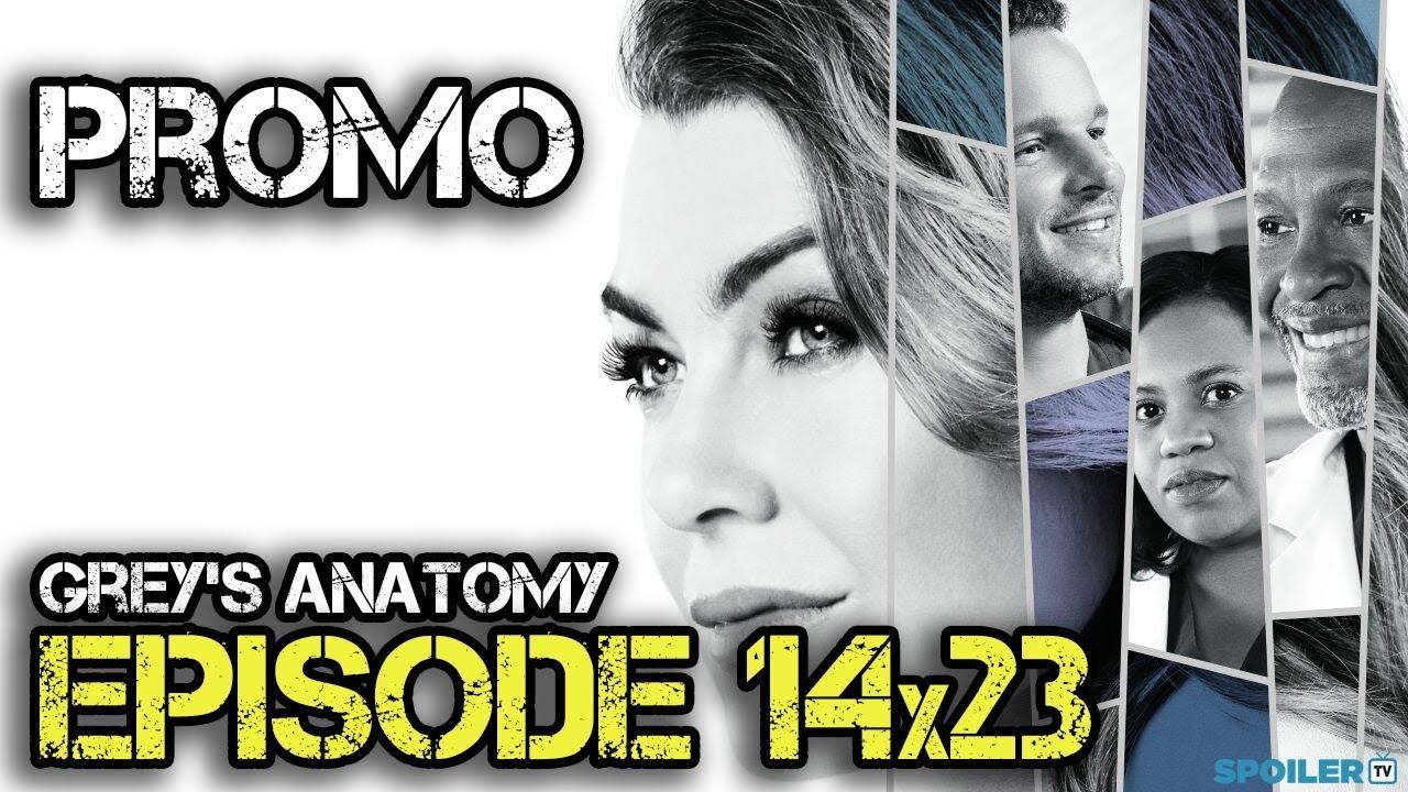 Grey\'s Anatomy 14x23 Promo \