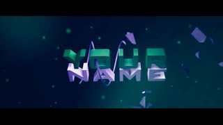 FREE 3D SYNC Intro Template #57 (TUTORIAL + Download)