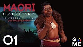 deity maori gathering storm civilization 6 twitch vod episode 1