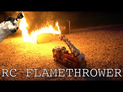 Download Youtube: Flamethrower RC FIRETRUCK