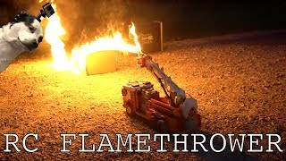 Flamethrower RC FIRETRUCK