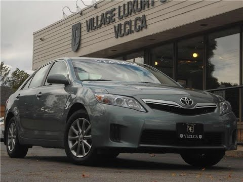 2011 Toyota Camry [Hybrid] In Review   Village Luxury Cars Toronto