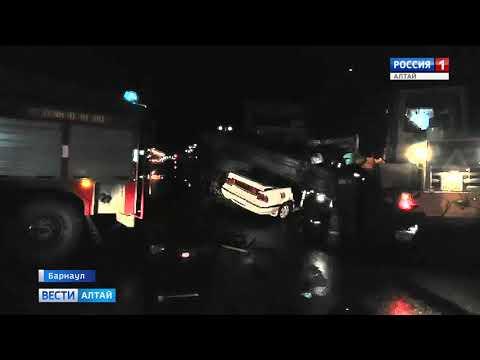 Смертельное ДТП произошло в Барнауле минувшей ночью