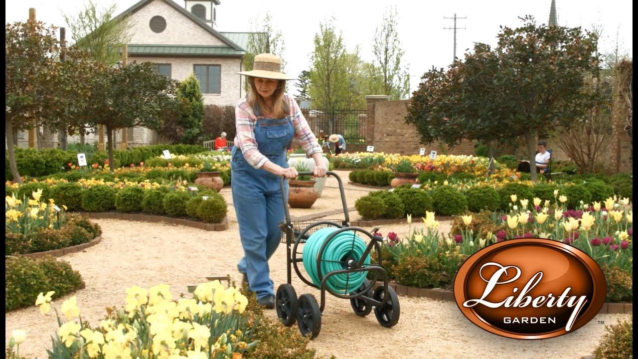 liberty garden model 871 s four wheel hose cart - Liberty Garden