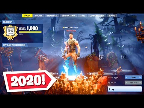 Playing Fortnite Season 1 In 2020! (Not Clickbait)