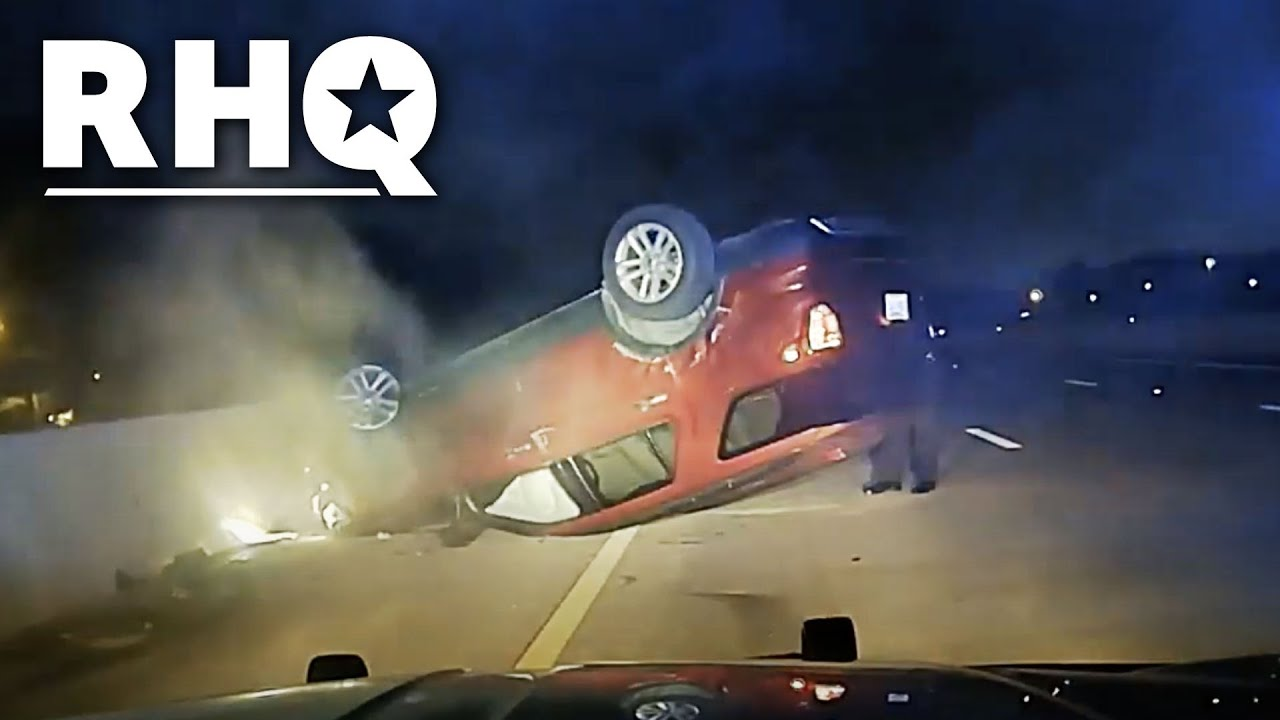 Cop Flips Car Of Pregnant Woman Then Gets SUED