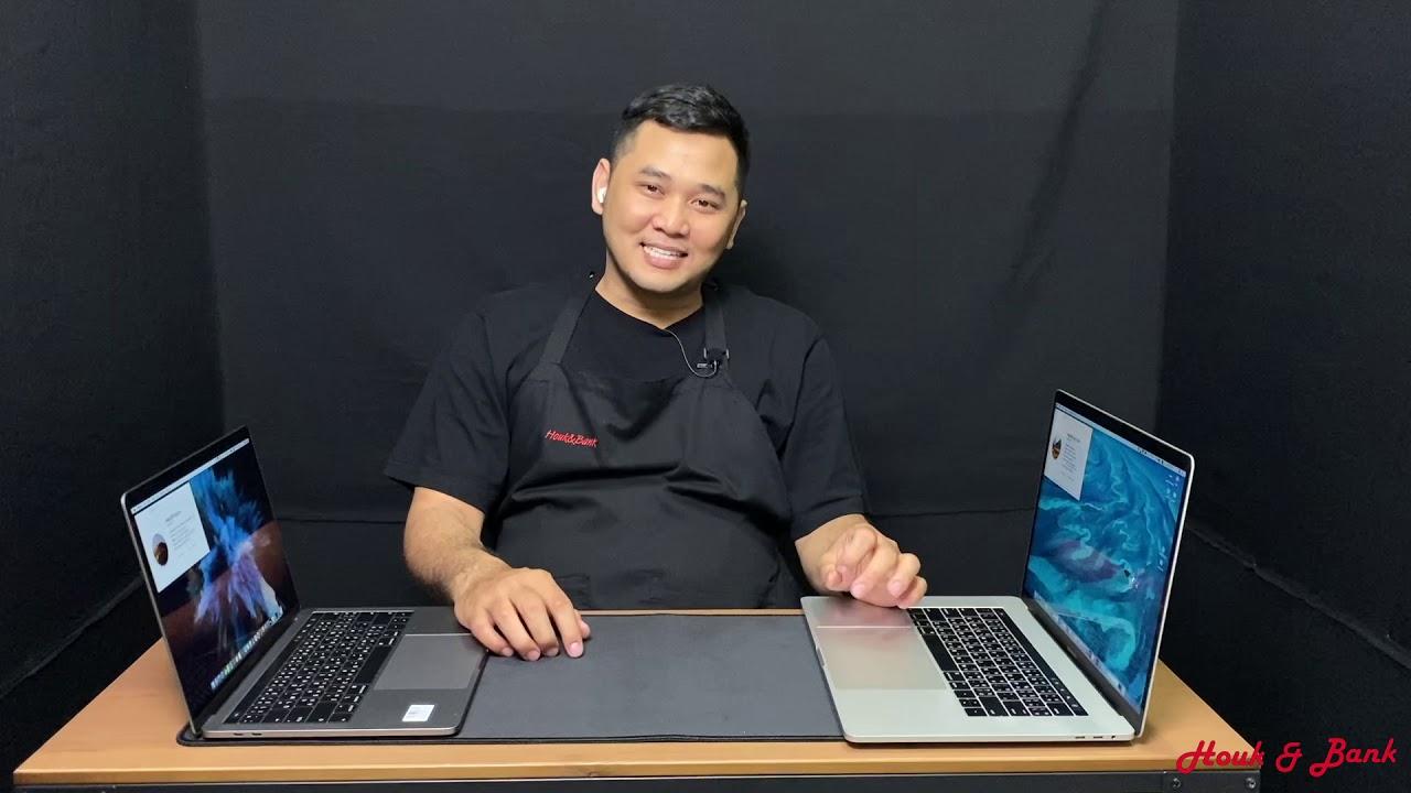 """รีวิว Macbook Pro 13"""" VS Macbook Pro 15"""""""
