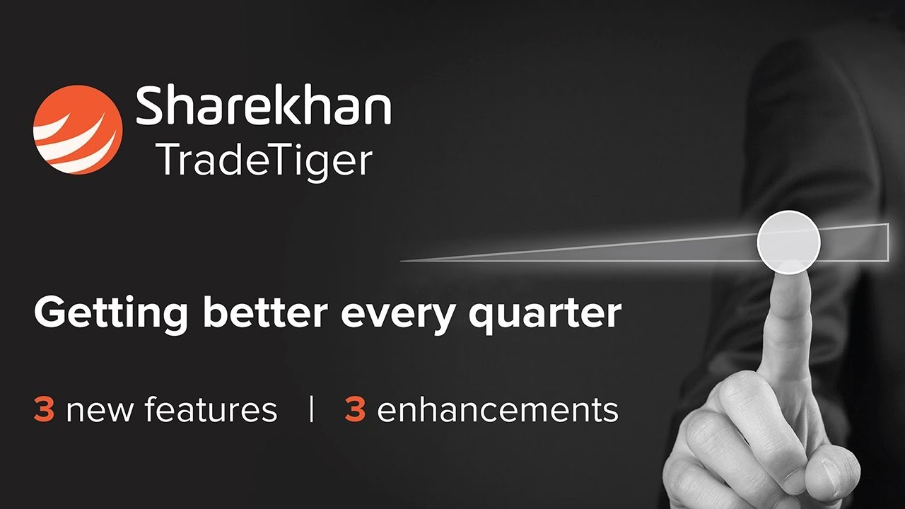 TradeTiger the Ultimate Online Trading Platform's New Features || Sharekhan