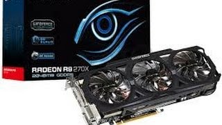 3DMark 11 Test Gigabyte Radeon R9 270X Windforce 3x OC