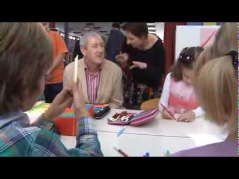 UNICEF MNE - British TV actor Nicholas Lyndhurst promotes fostering in Montenegro