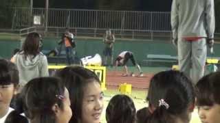 韋駄天スプリンターズ(江里口 塚原 高平 藤光) VS クラブチーム 400mリレー対決 IDATEN SPRINTERS