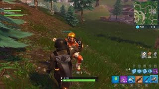 BBC World Record Fortnite Longest and highest Shopping cart jump (Bounce Pads)