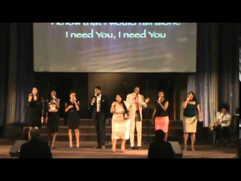Mt Rubidoux Young Adult Praise Team  I need you  Tye Tribbett