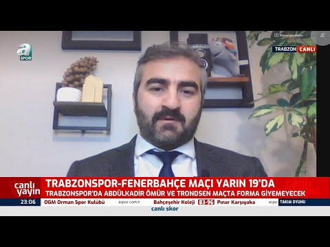 Trabzonspor'da Fenerbahçe Maçında