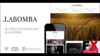 Preview Labomba - Responsive Multipurpose WordPress Theme TF