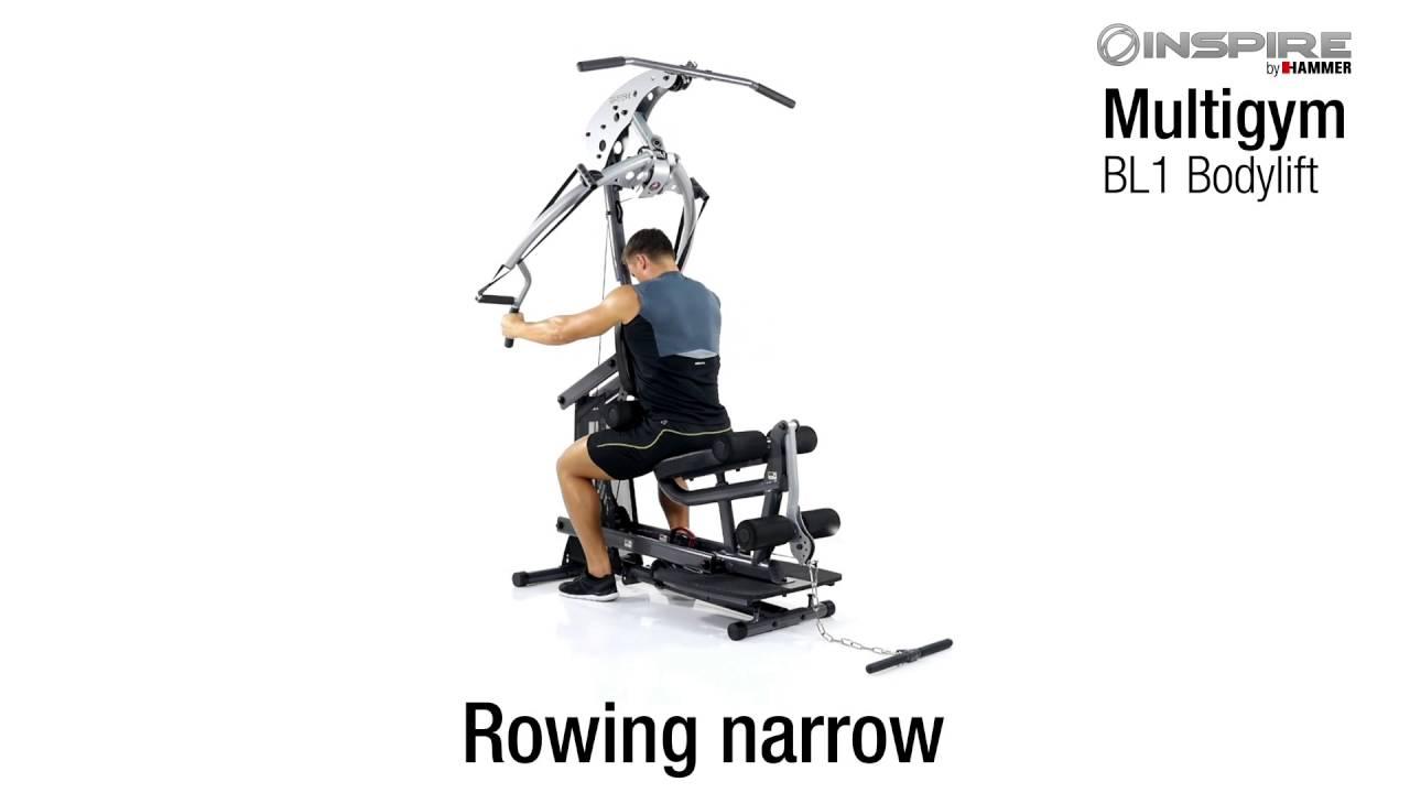 Download Multi Gym BL1 Bodylift | INSPIRE by HAMMER