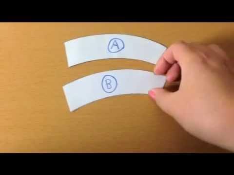ジャストロー錯視(Jastrow illusion) - YouTube