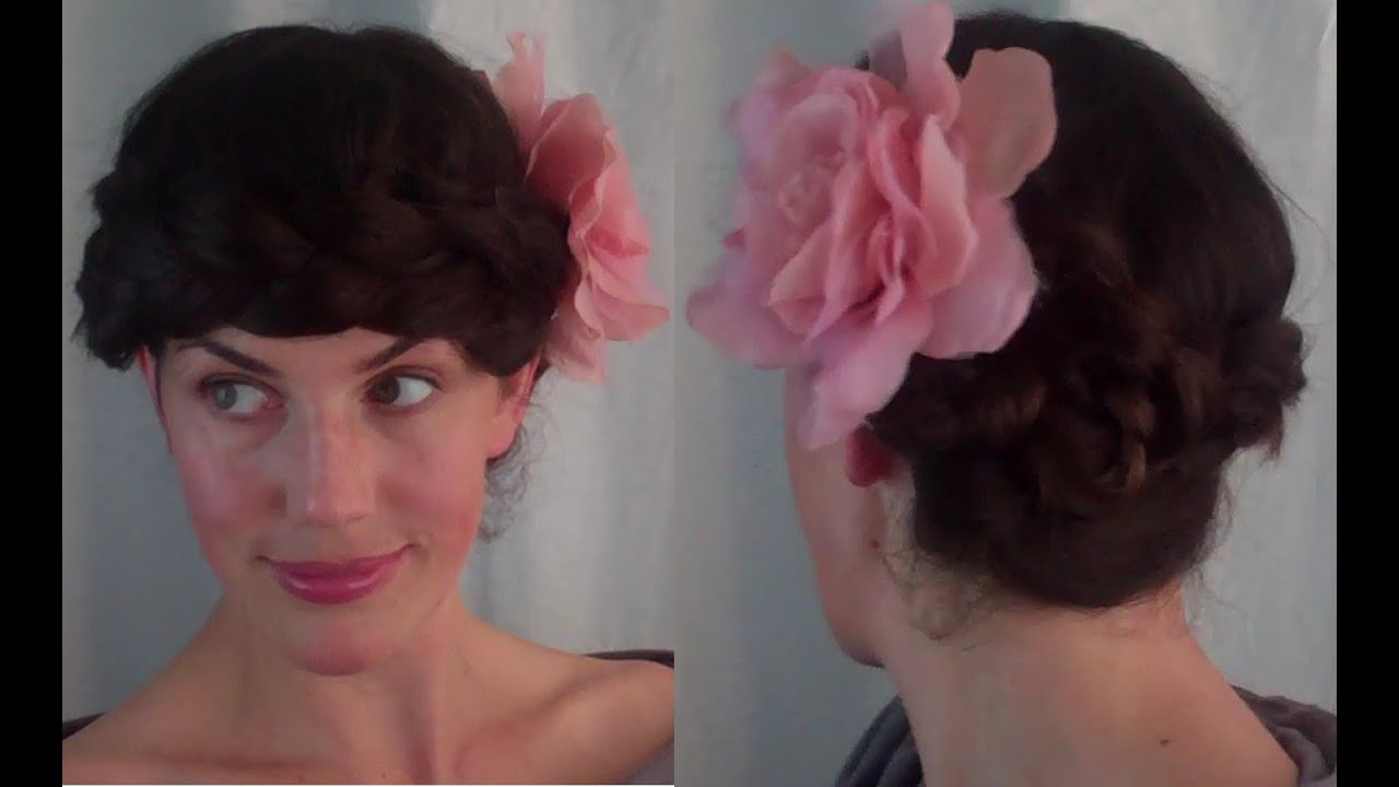1920s Long Hair Styles: 1920's & EDWARDIAN Inspired FUN And FANCY Braided Vintage