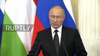 Russia: Putin says 'chain of tragic random events' behind IL-20 crash in Syria