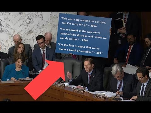 Democratic senators have come with PROPS to Mark Zuckerberg's testimony | Richard Blumenthal
