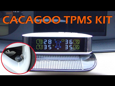 CACAGOO TPMS Kit with Temperature Monitor