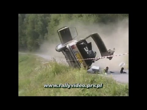 best of crashes vol 1 www.rallyvideo.prv.pl - dzwony kjs crash rally