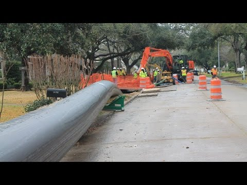 City Of Houston Swagelining 30-inch Water Transmission Main