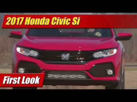 2017 Honda Civic Si: First Look