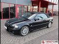 750119 BMW 330CI 3.0L 231HP E46 CABRIO AUT 06-01 BLACK 85518KM LHD