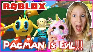 Pacman is Evil Obby / Roblox