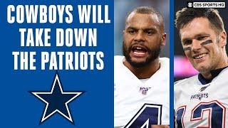 Cowboys Dak Prescott WILL TAKE DOWN Tom Brady and the Patriots: Betting picks | CBS Sports HQ