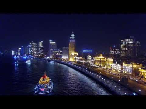 Shanghai Bund night tour - 27 min