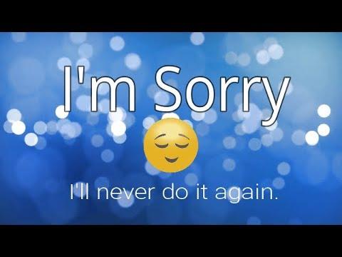 I Am Sorry || Very Emotional Whatsapp Status 30 Sec Video