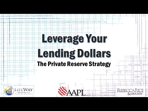 Webinar: How to Leverage your Lending Dollars