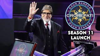 Kaun Banega Crorepati Season 11 Launch | Full Event | Amitabh Bachchan