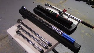 Harbor Freight,Kobalt and Snap-On Torque Wrenches