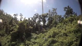 Jungle Zipline Vanuatu 2015