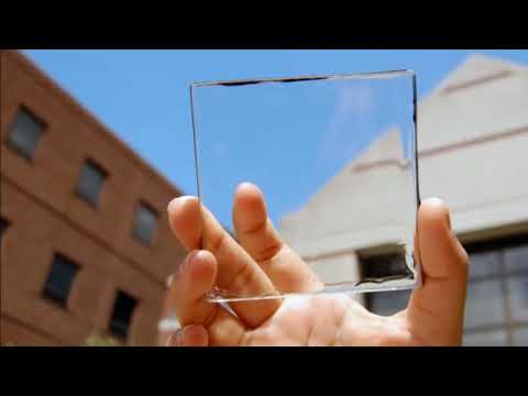 Transparent solar technology represents wave of the future. - Supertech World News - 30-12-17