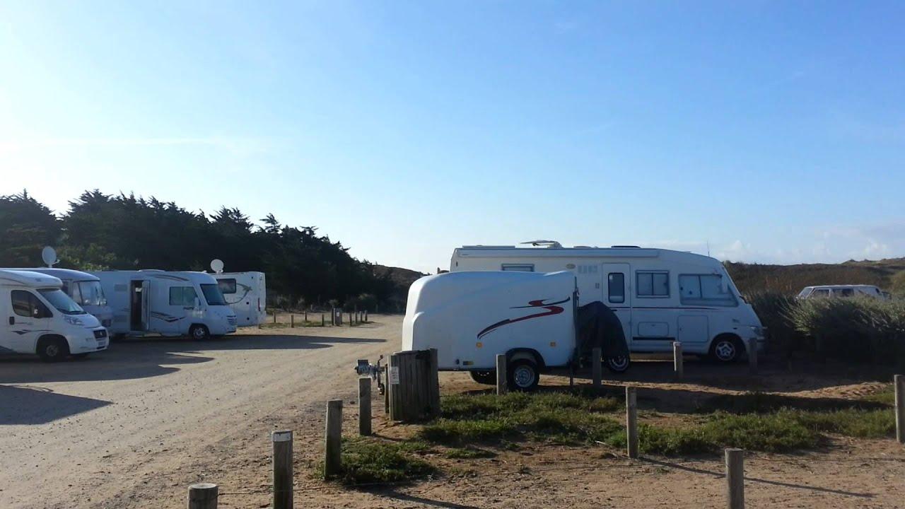 aire de stationnement camping car de saint hilaire de riez