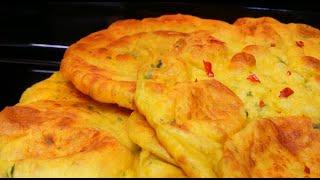 خبز الكاري بالبطاطا  تفيدكم بالحضر. سهله واقتصاديه #قناة مطبخ شاي مهيل