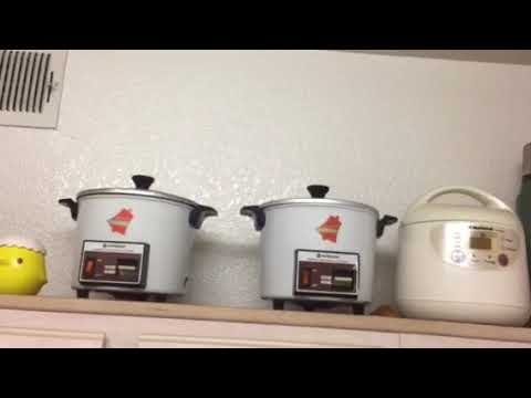 fb2b135eb92 Hitachi Chime O Matic Rice Cooker - YouTube