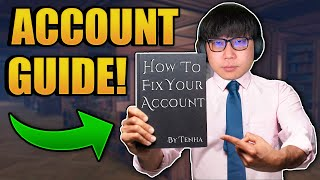 How to make a GOD tİer ACCOUNT!