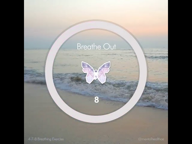 4-7-8 Breathing Technique - Beach