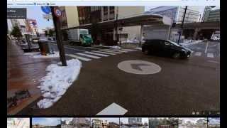 Toyota Runx в японии 2014 год - гугл карты