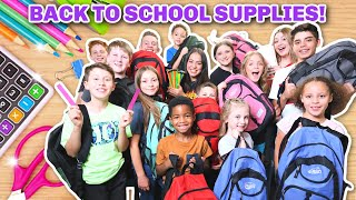 School Supplies For 14 Kids! | Home-school Supplies! | Back To School 2020!