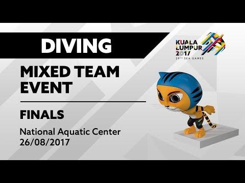 KL2017 29th SEA Games | Diving - Mixed Team Event FINALS | 26/08/2017