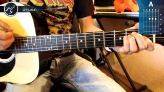 "Cómo tocar ""Highway to Hell"" de AC/DC en Guitarra Acústica (HD) Tutorial - Christianvib"